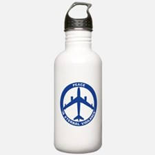 B-47 Peace Sign Water Bottle