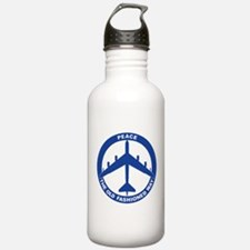 B-52G Peace Sign Water Bottle