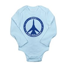 FB-111A Peace Sign Onesie Romper Suit