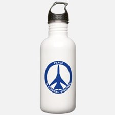 FB-111A Peace Sign Water Bottle