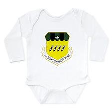 2nd Bomb Wing Long Sleeve Infant Bodysuit