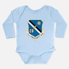 93rd Bomb Wing Long Sleeve Infant Bodysuit