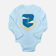 380th Bomb Wing Long Sleeve Infant Bodysuit