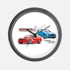 Funny Autocross Wall Clock