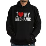 I Love My Mechanic Hoodie (dark)