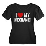 I Love My Mechanic Women's Plus Size Scoop Neck Da