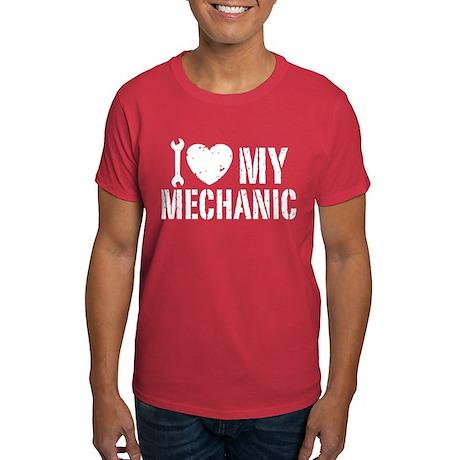 I Love My Mechanic Dark T-Shirt