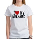 I Love My Mechanic Women's T-Shirt