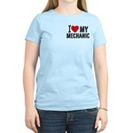 I Love My Mechanic Women's Light T-Shirt