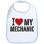 I Love My Mechanic Bib