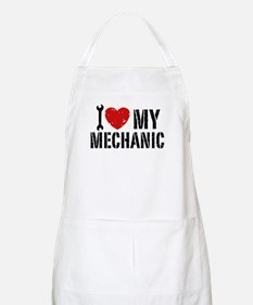 I Love My Mechanic Apron