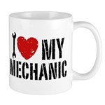 I Love My Mechanic Mug
