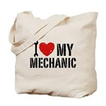 I Love My Mechanic Tote Bag