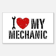 I Love My Mechanic Decal