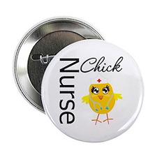 "Nurse Chick 2.25"" Button"