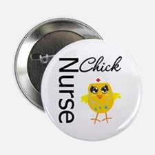 "Nurse Chick 2.25"" Button (100 pack)"
