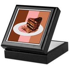 Cake Neapolitan Keepsake Box