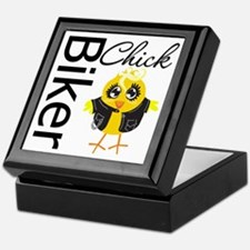 Biker Chick Keepsake Box