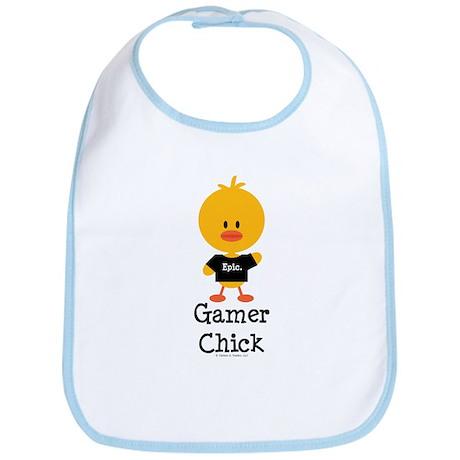 Gamer Chick Bib