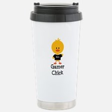 Gamer Chick Stainless Steel Travel Mug