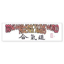 Aikido Harmony Bumper Bumper Sticker