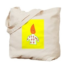 Cute Carrot Head Tote Bag