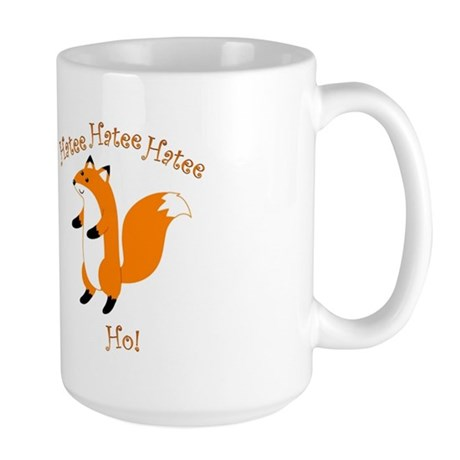 Hatee Ho Fox Large Mug