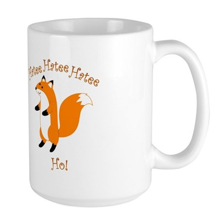 Hatee Ho Fox Large Mug