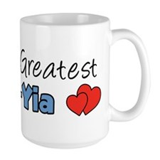 World's Greatest Yia-Yia Ceramic Mugs