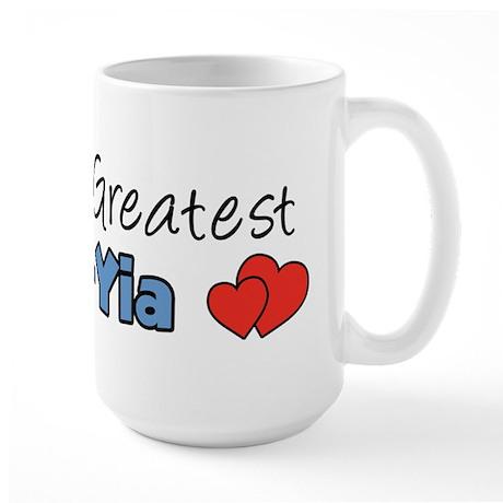 World's Greatest Yia-Yia Large Mug
