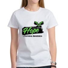 HopeTattoo Butterfly Lymphoma Tee