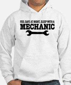 Feel Safe With A Mechanic Hoodie