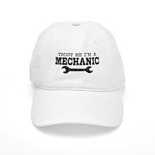 Trust Me I'm A Mechanic Baseball Cap