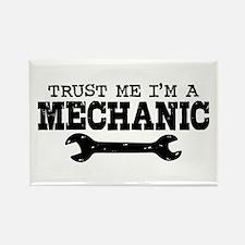 Trust Me I'm A Mechanic Rectangle Magnet