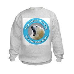 Stop Global Warming (Front) Sweatshirt