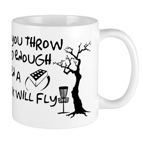 Even a brick will fly Mug