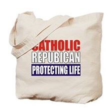 Catholic Republican Tote/Grocery Bag