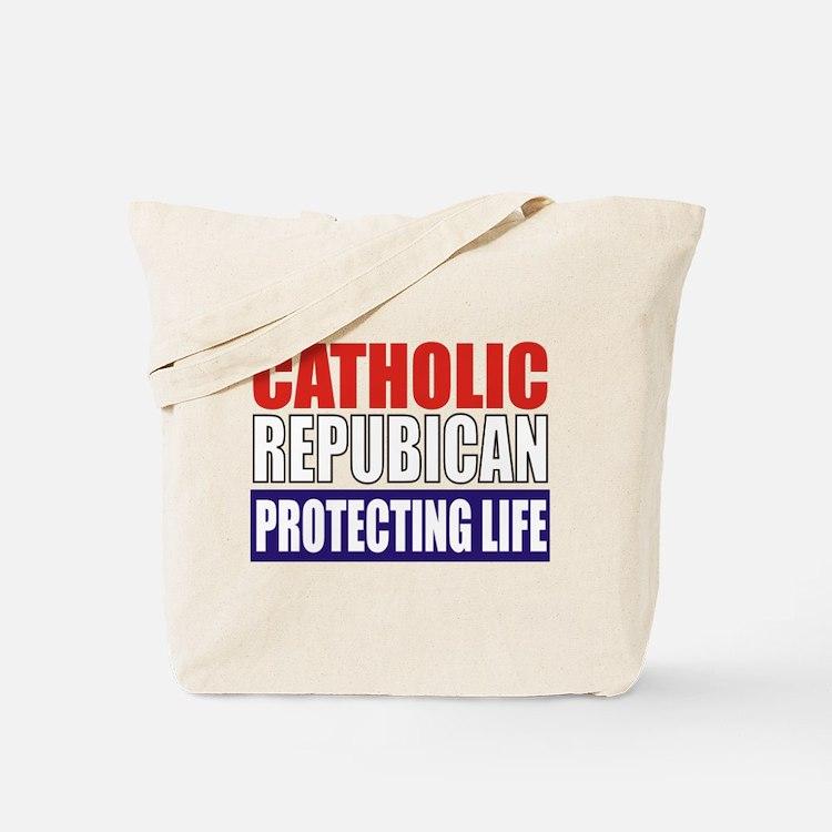Catholic Republican Tote/Grocery Bag