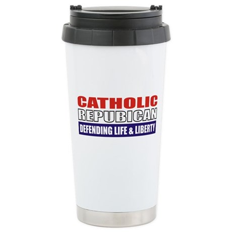 Catholic Republican Travel Mug