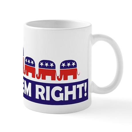 Raising 'Em Right! Mug (3 kids)