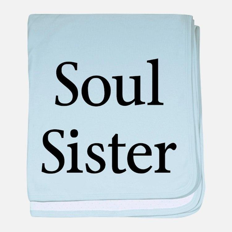 Soul Sister baby blanket