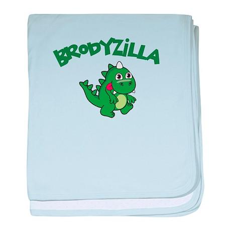 Brodyzilla baby blanket