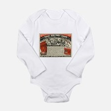 Root Doctor's Hand Long Sleeve Infant Bodysuit