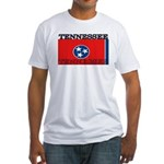 Tennessee State Flag Fitted T-Shirt