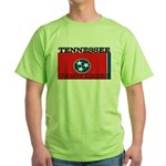 Tennessee State Flag Green T-Shirt