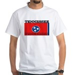 Tennessee State Flag White T-Shirt
