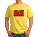 Tennessee State Flag Yellow T-Shirt