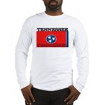 Tennessee State Flag Long Sleeve T-Shirt