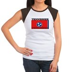 Tennessee State Flag Women's Cap Sleeve T-Shirt