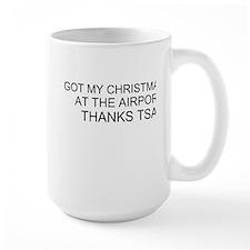 Christmas Goose White Mug